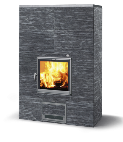 Tulikivi Masonry Heater Grafia TU2200T/50